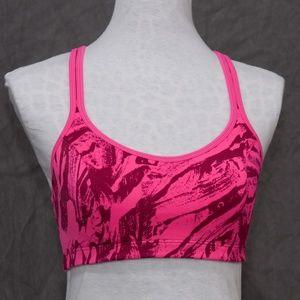 Champion Hot pink abstract sports bra 34C